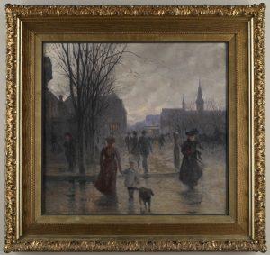 Robert Koehler Rainy Evening Hennpin