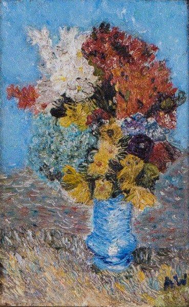 Ada Wolfe Minnesota Artist Original Painting Artwork