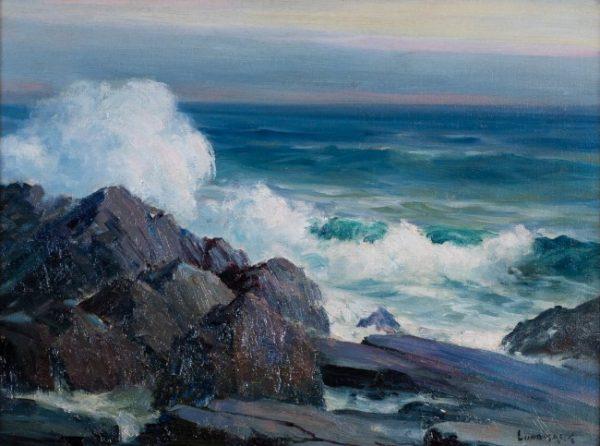 Leon Lundmark Seascape Painting For Sale Hiro Fine Art