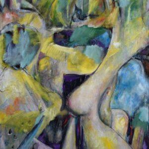 Hugh Kappel Abstract Painting