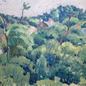 David Ericson Impressionist Landscape