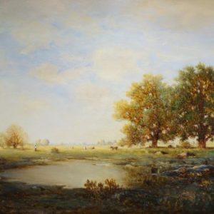 Gilbert Munger Landscape Painting