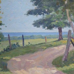 CC Rosenkranz Painting of Lake Superior