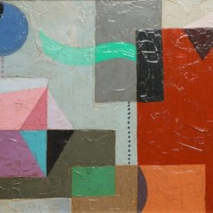 Charles Green Shaw Abstract Painting