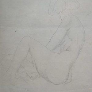 Wanda Gag Nude Self Portrait