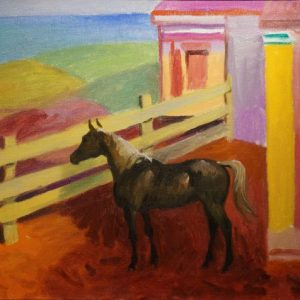 Cameron Booth Horse Painting