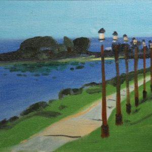 Cameron Booth Point at Ashland, Wisconsin Painting