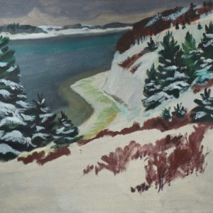 Cameron Booth Beaver Bay Painting