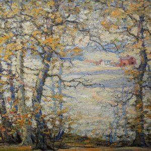 Carl Rawson 1923 Landscape Painting