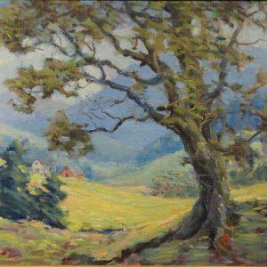 Carl Rawson Arkansas Landscape Painting