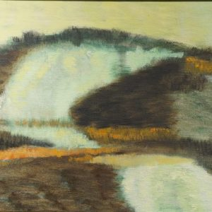 Cyrus Runnings Modernist Landscape Painting