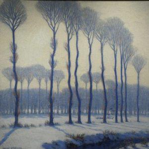 David Ericson Winter Mists Painting