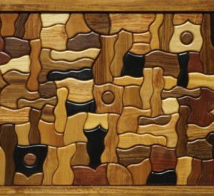 George Morrison Wood Sculpture Table