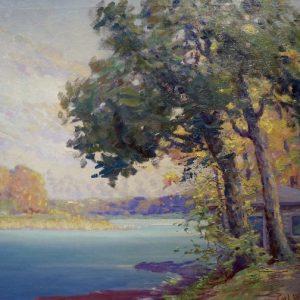 Carl Rawson Landscape Painting