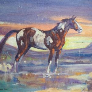 Ace Powell_Horse in Sunset