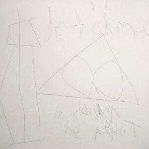 Robert Motherwell_Je t'aime ce dessin me plait