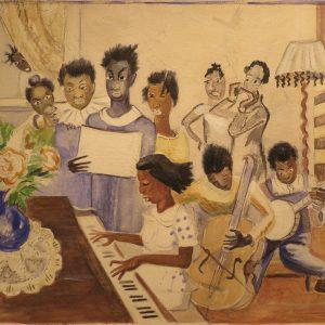 Clara Mairs_Negro Childrens Concert