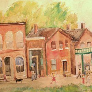 Clara Mairs_Town Street
