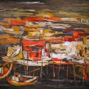 Elof Wedin_Herring Boats, Norway